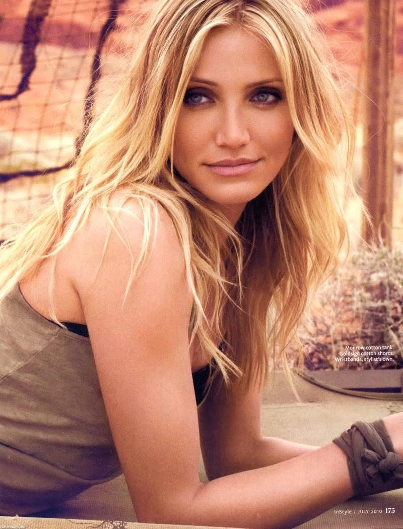 cameron diaz on instyle july 2010 – gosh!about: fashion. art. music