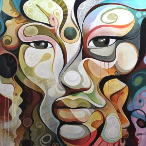 BK the Artist, brian kirhagis, poppington art, gallery, damon, dash,