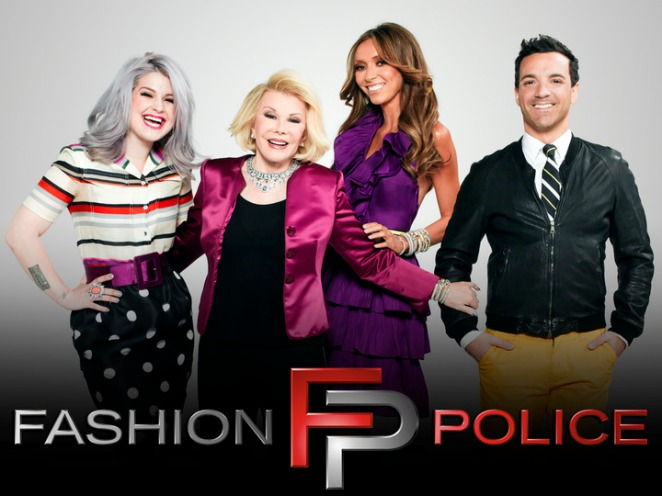fashion police, joan rivers, rancic, kelly osbourne, OG, E news, news, quits, exit, goshabout, blog, najaam lee