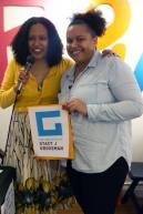 Winner of the Law Office of Stacy J Grossman raffle prize