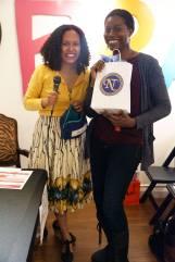Winner of the Nubian Tresses raffle