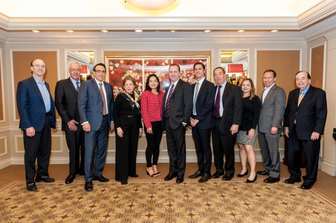 Foreign investment panel with B'nai B'rith Real Estate Board